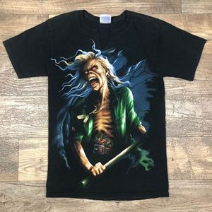Iron Maiden Metal Size Small T-Shirt